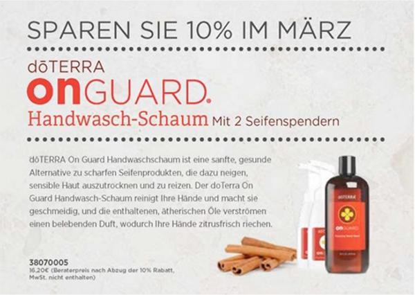OnGuard Handwasch-Schaum