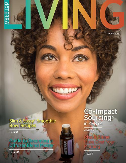 dōTERRA LIVING Magazin spring 2018