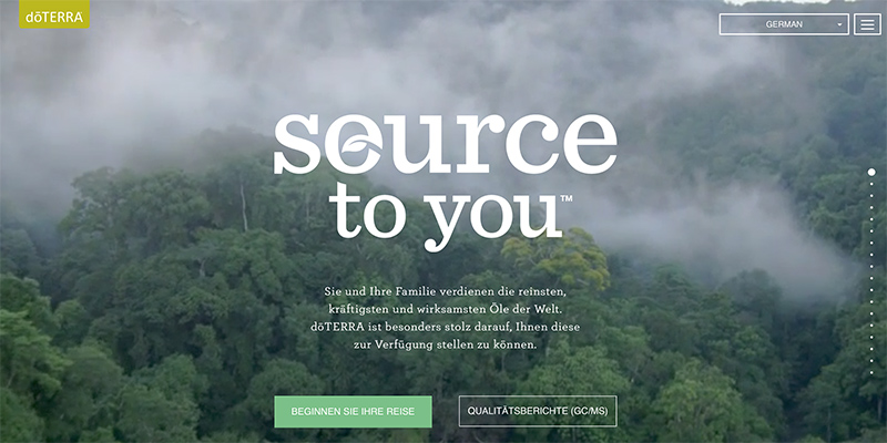dōTERRA source to you