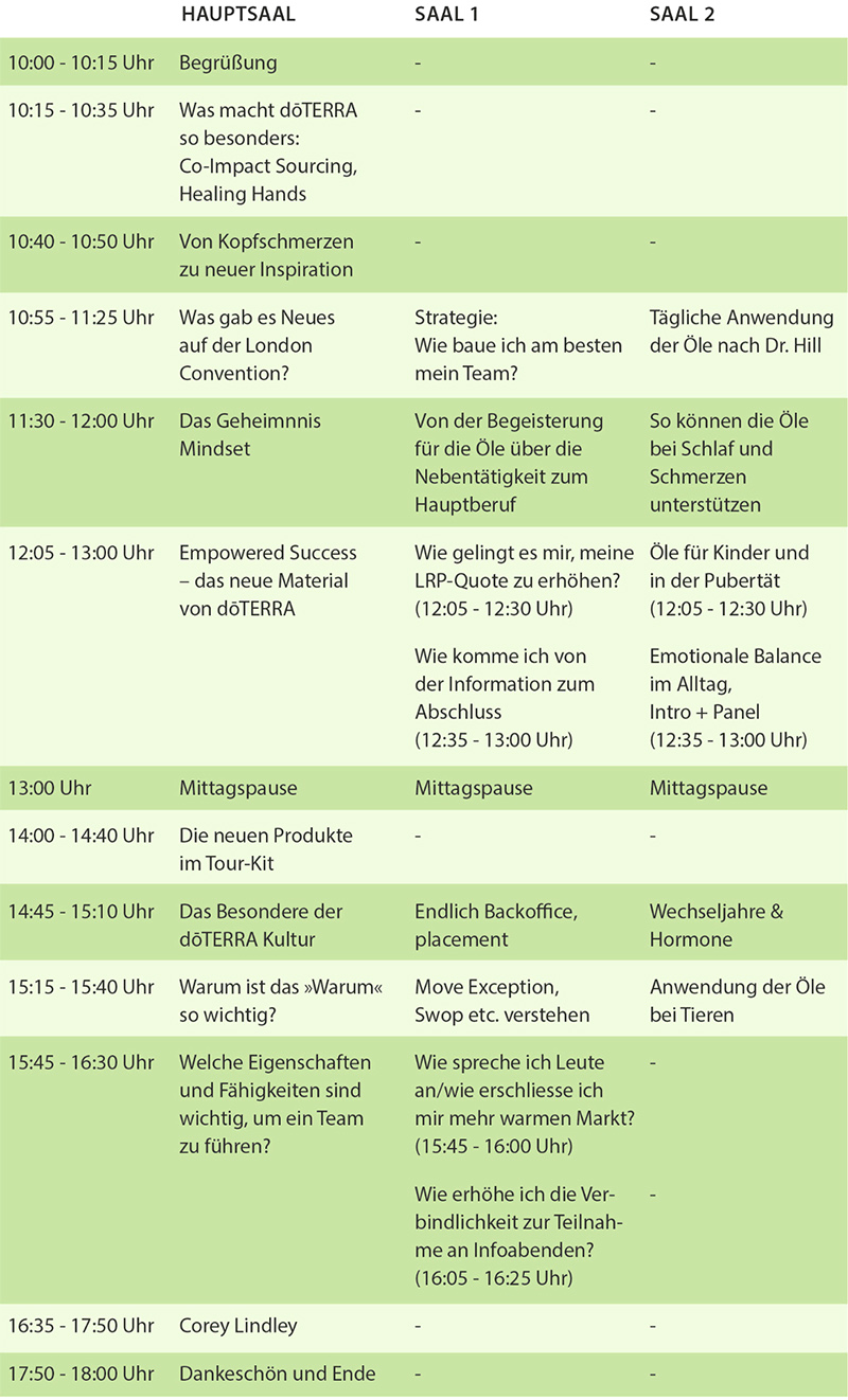 Germany Day 2018 Programm
